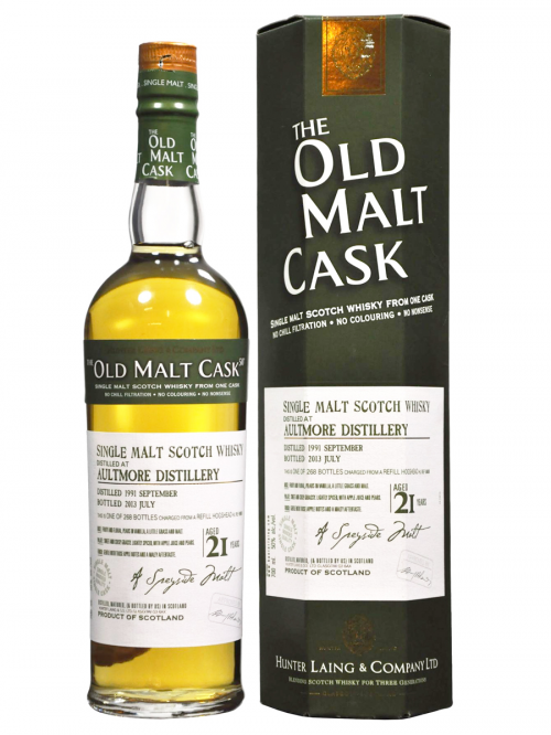 Aultmore 21 Year Old 1991–2013 Old Malt Cask