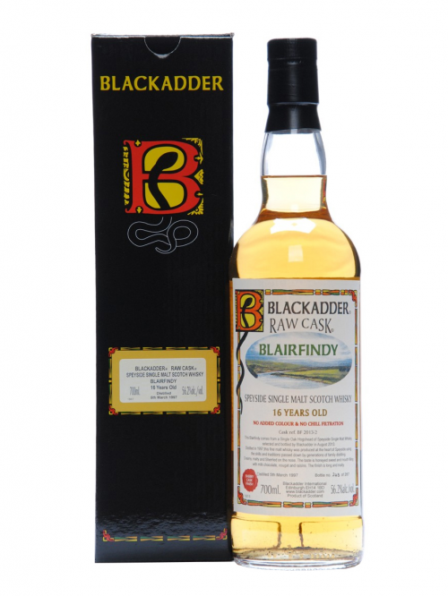 Blairfindy 16 Year Old 1997–2013 Raw Cask