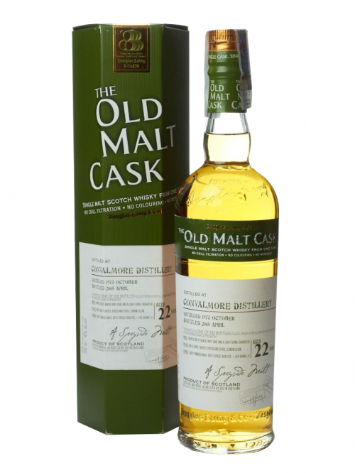 Convalmore 22 Year Old 1978–2000 Old Malt Cask