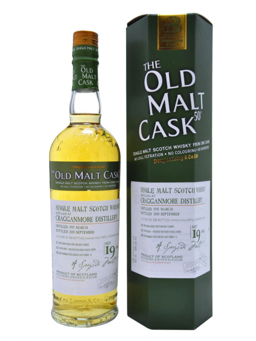 Cragganmore 19 Year Old 1991–2010 Old Malt Cask