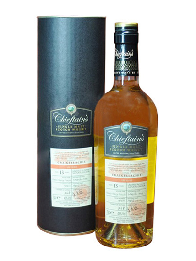 Craigellachie 13 Year Old 1999–2012 Chieftain's Choice
