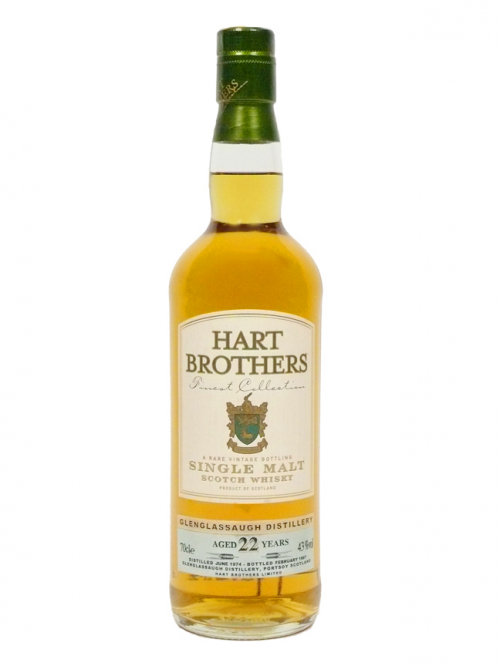 Glenglassaugh 22 Year Old 1974 Hart Brothers
