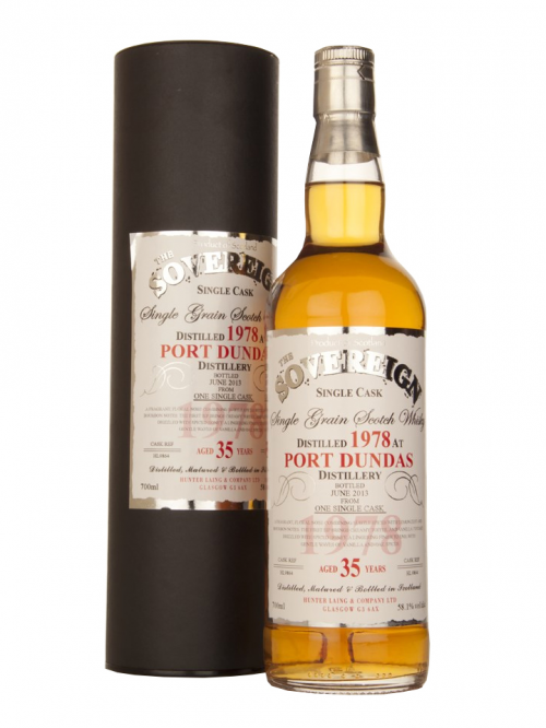Port Dundas 35 Year Old 1978–2013 Hunter Laing The Sovereign