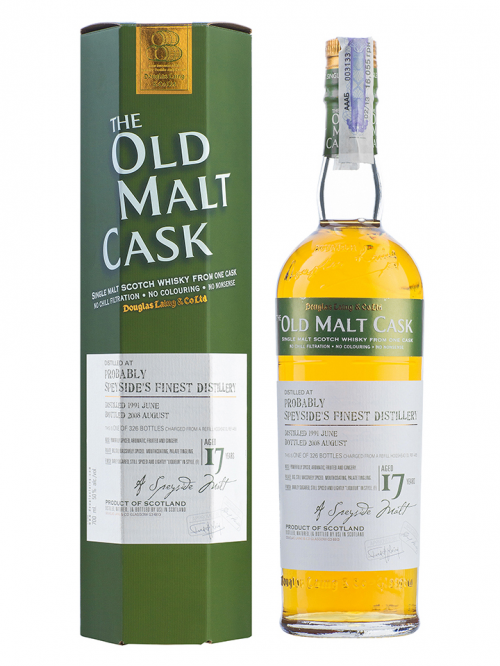 Probably Speyside's Finest 17 Year Old 1991–2008 Old Malt Cask